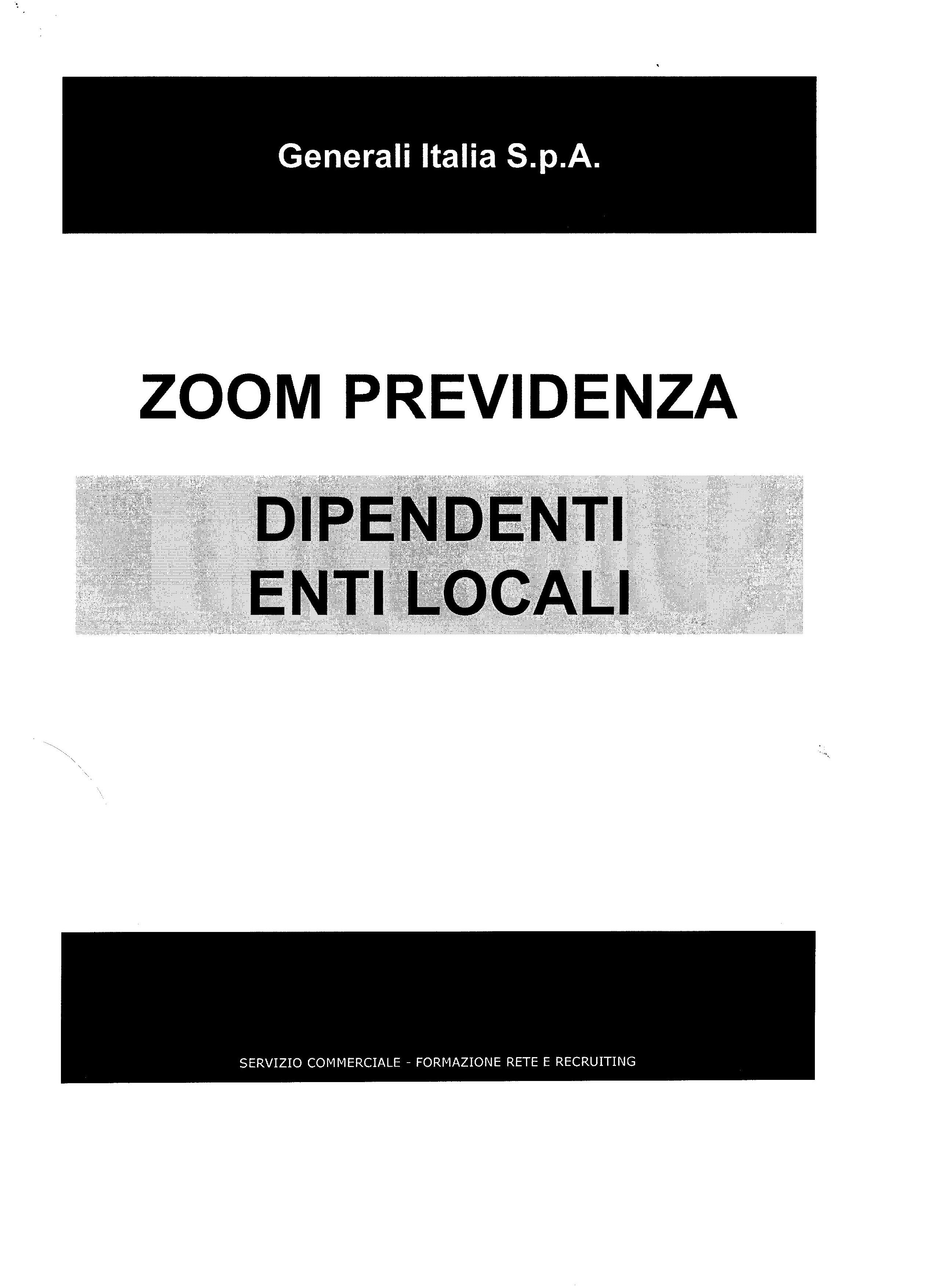 Proposta Generali - pag. 1